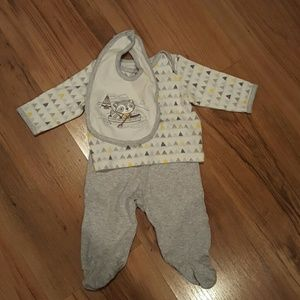 Little Me Take Me Home Footie Outfit